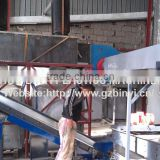 Liquid battery scrap recycling system, lead-acid car battery recycling line
