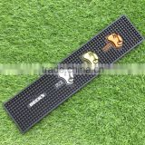 branded promotional plastic rubber bar mat