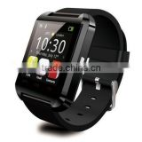 China MTK6260A colorful cheapest u8 smart watch with camera and sim card slot best waterproof heart rate monitor smart watch