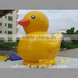 Small inflatable exhibition promotional inflatable floating duck inflatable Big yellow duck