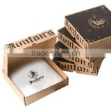 Hot selling high quality kraft paper custom pizza box/recycled brown kraft paper food box/food paper boxes