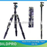 BILDPRO Hidden Cameras Tripod Nature Green Color Tripod Stand For Outdoor Photography