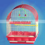 Foldable decorative steel wire mesh metal bird house bird cage                                                                         Quality Choice