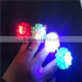 colorful plastic led ring custom party finger led light                                                                         Quality Choice