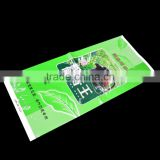 PET AL PE 3 layers laminated tea packing side gusset vacuum bag