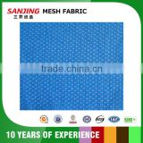 Breathable blue bird eye mesh fabric for sport shoes & bags