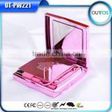 High quality metal case make up mirror power bank 6000mah                                                                         Quality Choice