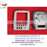 Control box Die Casting zinc control Panel cover body parts