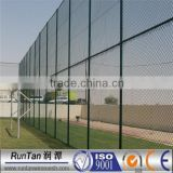 high quality hot dipped galvanized and pvc coated soccer field fence