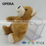 hot excellent quality colorful soft plush teddy bear bouquet