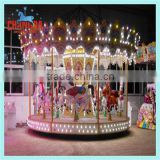Used amusement park ride carousel, rotating rides carousel for sale