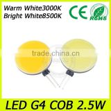 Custom made led light g4 cob led car bulb, led reading light, auto parts g4 wholesale price