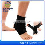 FDA CE sport neoprene orthopedic ankle support foot sleeves / Enhance ankle fracture brace / CE proved