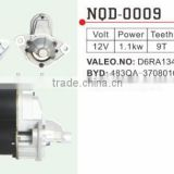 Auto Starter motor for BYD F6 483QA-3708010 ,Vale D6RA134