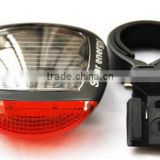 2014 new led solar energy bike rear light bicycle tail light