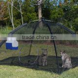 Cat Black Mesh Pop up Tent,automatic pop up tent