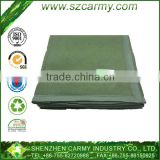 70% viscose 30%wool Army Green 1.55kg Most Popular Used for Winter Cheap Military Fleece Blanket