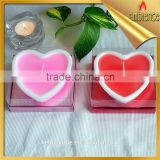 wholesale heart shaped romantic candle scented tealight craft candle ktv bar party supplies