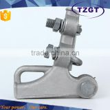 Aluminum Alloy Strain Clamp with u bolts/Anchor clamp NLL series for aerial cable accessroies