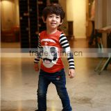 2016 Fashion Children's T shirt Boys Casual Cotton T-shirt Wholesale                                                                         Quality Choice