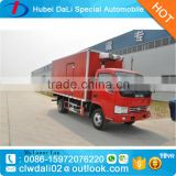 5-7Tons Dongfeng RHD frozen food refrigerator truck/mobile food truck/refrigerated cold room van truck for hot sale