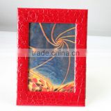 customized leather album,photo frame with leather cover