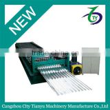 cangzhou ppgi coil sheet roofing corrugated sheet machine rolling forming machine in china