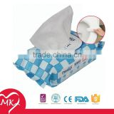 Flushable antimicrobial disposable delicate ultra thick perfume wet wipes tissues for car clean up or toilet