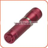 User-Friendly AAA NiMH 10440 battery energy saving mini size flashlight colored led lights