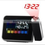 hot sale weather station projection clock