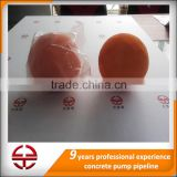 spare parts for construction equipment/ concrete pump cleaning rubber sponge ball