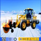 snow removal equipent with Self powered municipal brush snow removal vehicles and spare parts