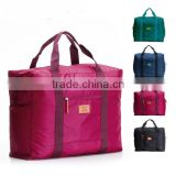 New design unisex foldable travel bag waterproof travel bag traveling luggage duffel bag