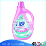 Liby 2L Plastic Bottles Liquid Laundry Detergent For Clothes Washing