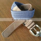 2014 Newest Fashion Canvas Belt, Braided Belt, Fabric Belt