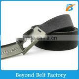 Metal Beer Bottle Opener Buckle Cotton Canvas Belt for Promotion Gift                                                                         Quality Choice