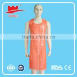 nonwoven medical disposable apron disposable aprons with sleeves waist apron with zipper pocket