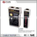 LY-CT007 RJ45 RJ11 RJ12 CAT5 CAT6 UTP/STP Network LAN BNC USB Multipurpose Cable Tester Remote Test Tools