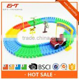 Happy battery operated racing car track toy