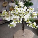 white wholesale branches silk flowers cherry blossom