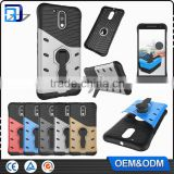 Wholesale Mobile Phone Accessories Back Cover For Motorola Moto G4 / G4 Plus TPU+PC Kickstand Hybrid Armor Case Paypal Accept