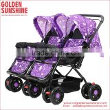 Golden sunshine twins baby stroller/baby carriage/pram/baby carrier/pushchair/gocart/stroller baby/baby trolley/baby jogger