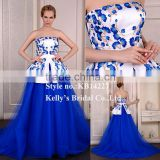women elastic knitted sexy bodycon dress celebrity dress blue cheap wholesale puffy flower girl dress New style ball gown dress