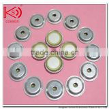 piezo ceramic disc buzzer element with aluminum shell