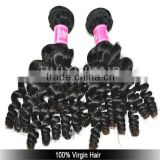 Natural soft virgin hair Malaysian hair weave kinky baby curl hair