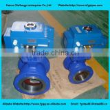 Pneumatic Actuator Ball Valve Teflon Seal API 6D with Positioner