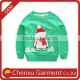 new fashion kids winter apparels crew neck merry christmas sweatshirt custom print fleece pullover kids wholesale hoodies