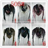 Muslim Silk long Scarf ,Tudung scarf Knitted