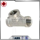 "1/4"" Tee 3 way Female Stainless Steel 304 Threaded Pipe Fitting NPT NEW"
