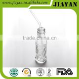 disposable plastic clear flexible drink straw
